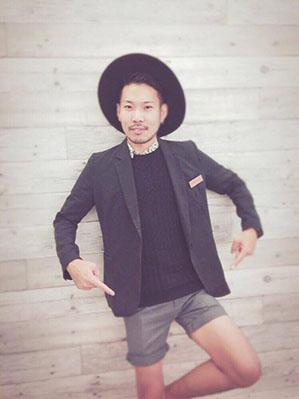 沼津の美容院、美容室で働く美容師の「渋谷翔太」は、牛若丸シザーズ沼津ビビ店に所属しています。