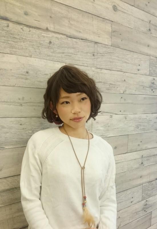 沼津BIvi店SCISSORS美容師朝比奈スタイル写真