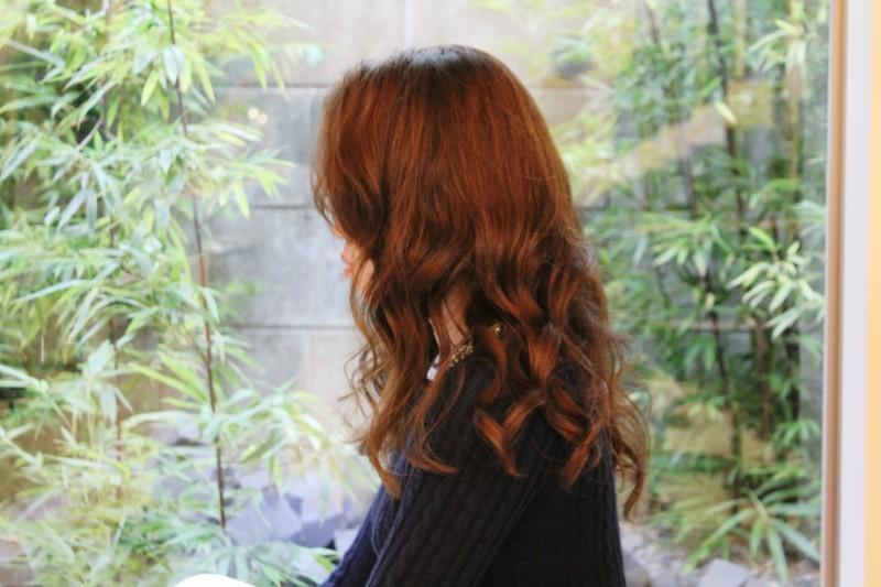 グランド函南町店美容師加納提案スタイル「クール大人可愛い!!さらふわセミディー」サイド