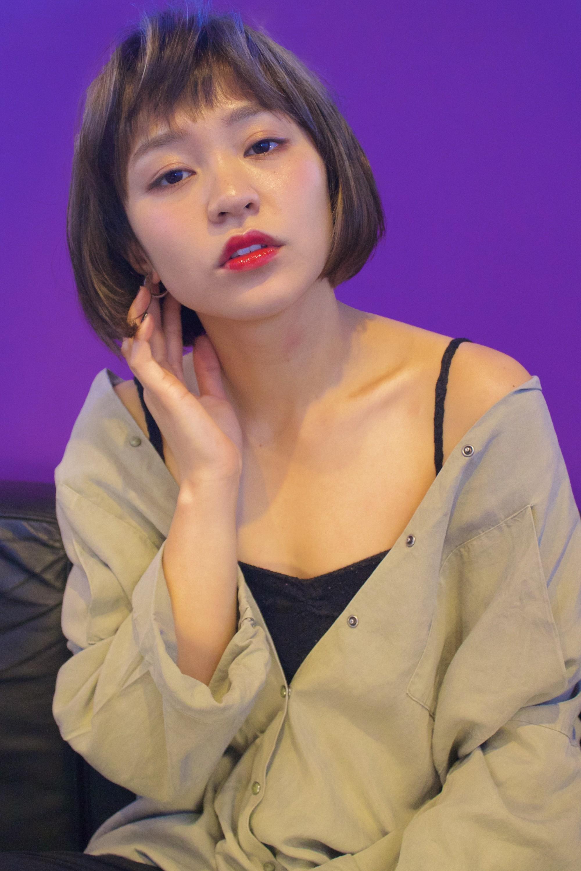 2017年春夏スタイル、美容師岡野