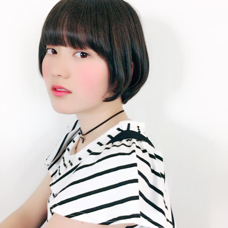マカロン沼津店美容師上原隼提案のあるスタイルサイド
