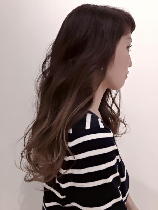 美容師実による春スタイル2
