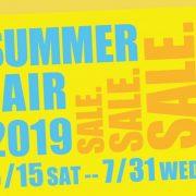 Summer Faire 2019