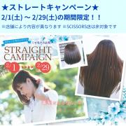ストレートキャンペーン開催中!!